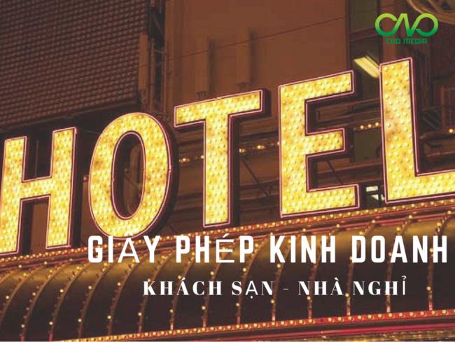 Dịch vụ xin giấy phép kinh doanh khách sạn nhà nghỉ trong Tphcm