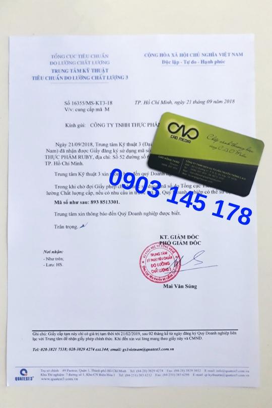 Đăng ký mã số mã vạch cho các sản phẩm hàng hoá trên thị trường