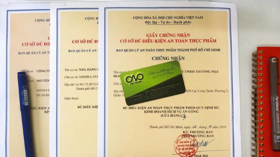 Cấp giấy phép vệ sinh an toàn thực phẩm cho hộ kinh doanh cá thể