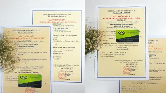 Quy định xin giấy chứng nhận đủ điều kiện an toàn thực phẩm