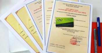 Xin giấy phép đủ điều kiện an toàn thực phẩm thuộc lĩnh vực Công thương và Y tế