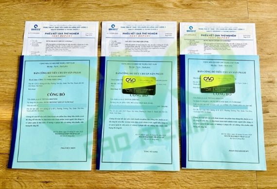 Hướng dẫn đăng ký lưu hành sản phẩm trong nước