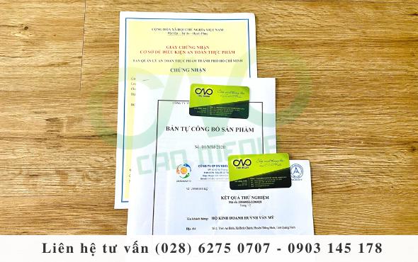 Dịch vụ làm công bố chất lượng sản phẩm mắm tôm trọn gói
