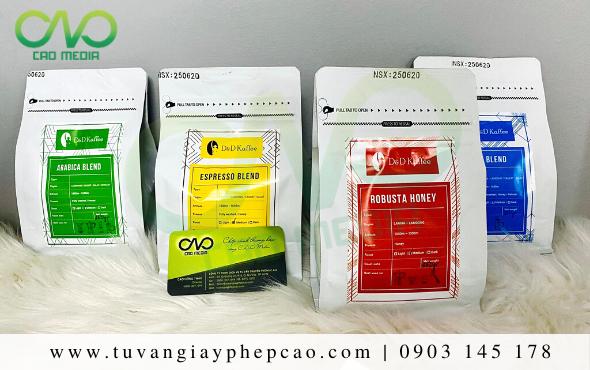 Dịch vụ làm công bố chất lượng cà phê tại Đà Lạt