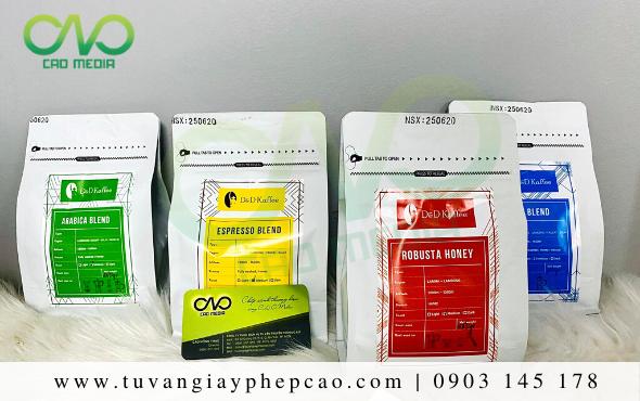 Dịch vụ làm công bố chất lượng cà phê tại Đắk Nông