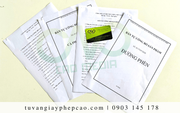 Công bố tiêu chuẩn chất lượng đường phèn